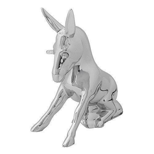 Chrome Donkey Hood Ornament - Eyes Light Up!