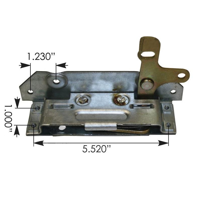 PETERBILT DOOR LATCH - 359 370 MODELS (2005 & EARLIER) DRIVER SIDE