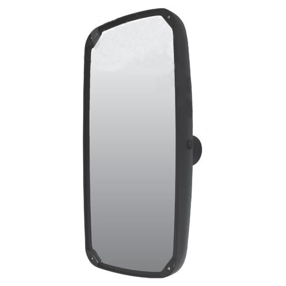 Aerodynamic 8x17 Black Mirror - Universal Fit for Semi Trucks
