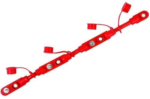Cable Overmolded Battery Harness (2/0) 21in (RED)