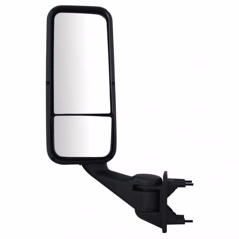 Peterbilt 387, 587 & Kenworth T2000, T700 Black Mirror Assembly, Driver Side