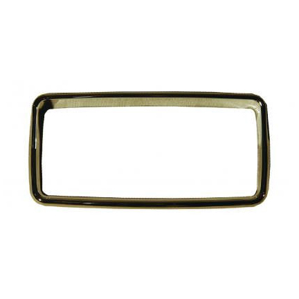 Chrome Bezel Warning Light Cover for Peterbilt (370 Series) 365,367,384,386+