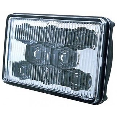 "8 LED 6"" X 4"" RECTANGULAR HIGH POWER HIGH  BEAM HEADLIGHT"