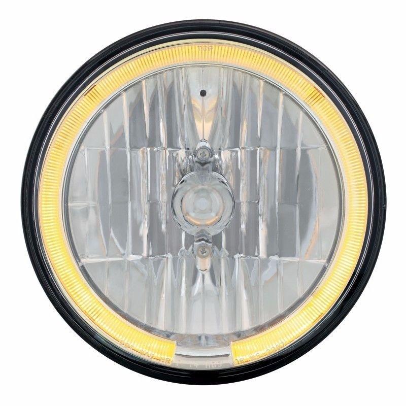 7_Ì´Ì¥ÌÎÌÊ̴̴̥å£Ì´Ì¥ÌÎÌÊÌÎ_Ì´å Crystal Headlight  with  AMBER LED Halo Ring - SEMI TRUCKS