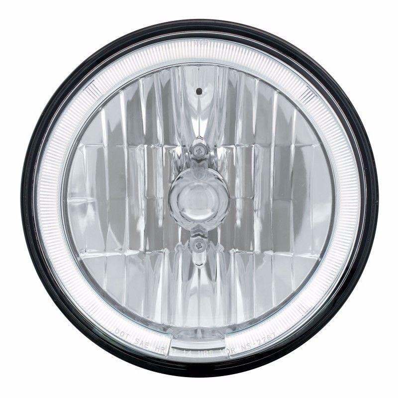 7_Ì´Ì¥ÌÎÌÊ̴̴̥å£Ì´Ì¥ÌÎÌÊÌÎ_Ì´å Crystal Headlight  with  WHITE LED Halo Ring - SEMI TRUCKS