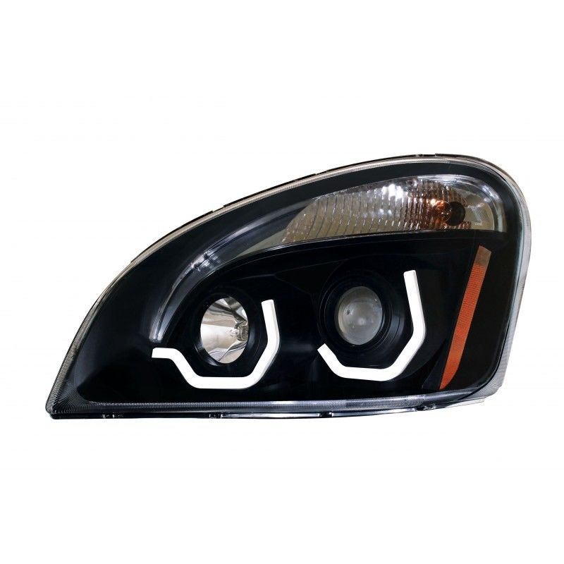 FREIGHTLINER CASCADIA PROJECTION HEADLAMP (BLACKOUT)  Drivers Side only