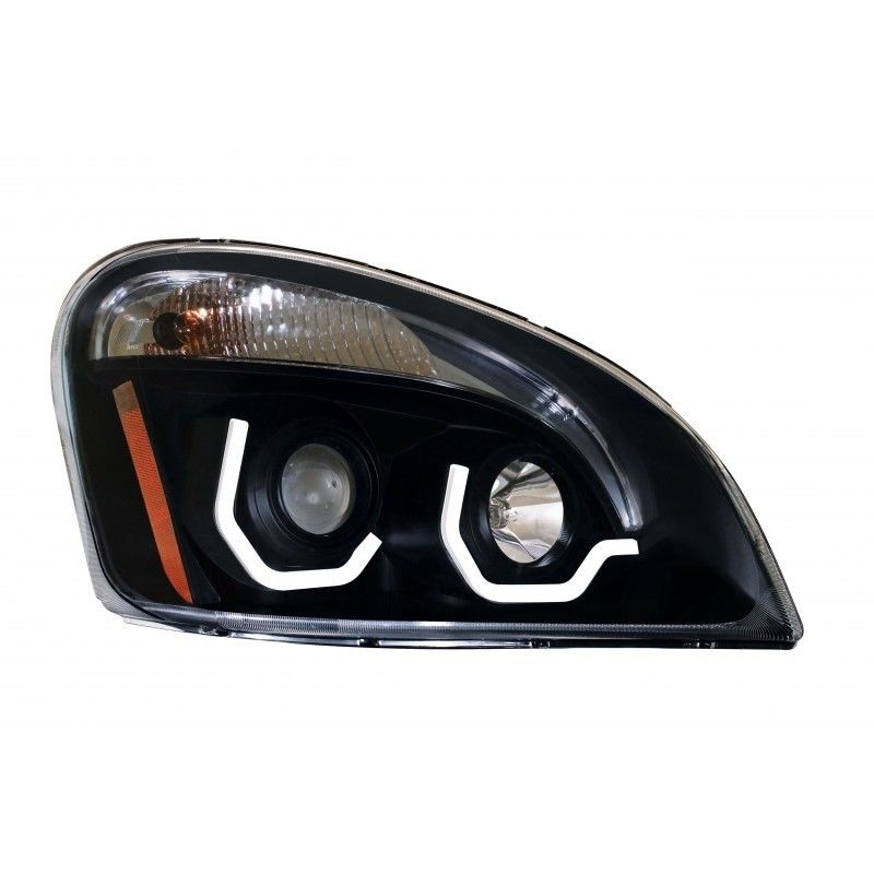 FREIGHTLINER CASCADIA PROJECTION HEADLAMP (BLACKOUT), Passenger Side