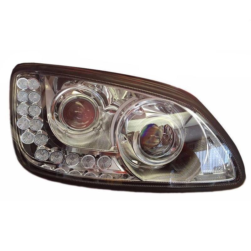 KENWORTH 18 LED CHROME PROJECTOR HEADLIGHT (PASSENGER-RH) KENWORTH T660