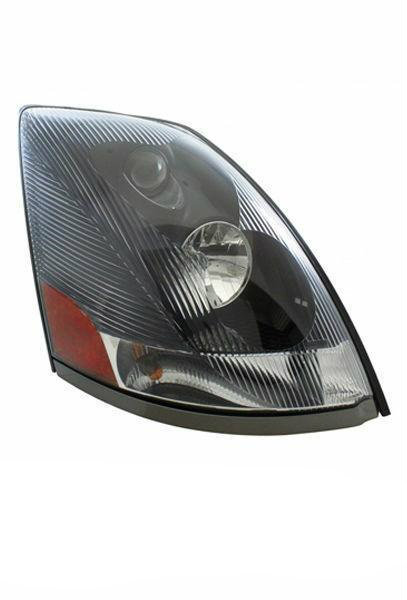 Volvo VN VNL VNM Series 430 630 670 730 780 Head Light Black Housing (RH)