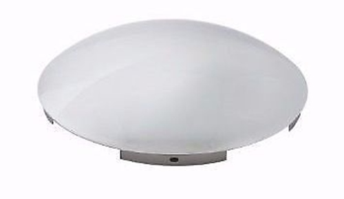 """Chrome Universal Front Hub Cap with 7/16"""" Lip and 6 Notches (1 each)"""