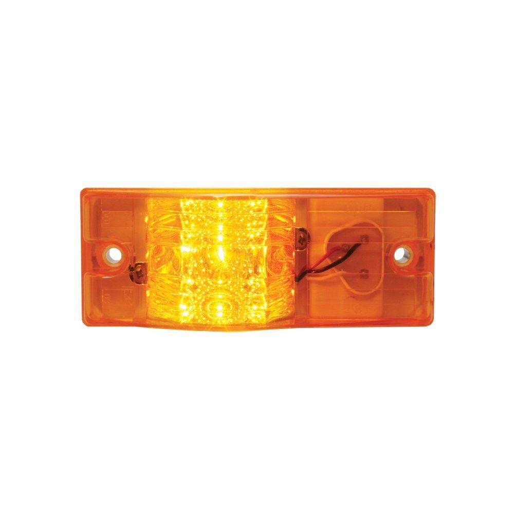 Amber Spyder 9-LED Side Mount Marker and Turn Sealed Light