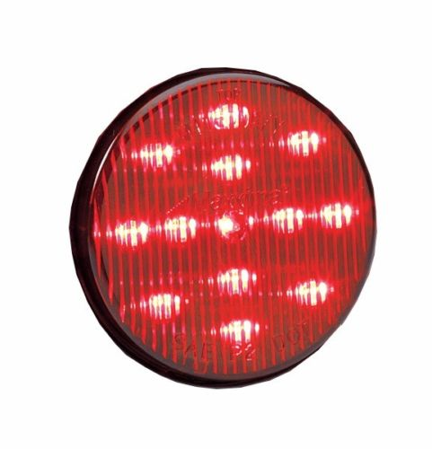 """Maxxima 2-1/2"""" Round Clearance Side Marker light 13 LED Red LED w/ Red  Lens"""
