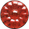 """4"""" (S/T/T) LAMP (15 LED) RED/ RED"""