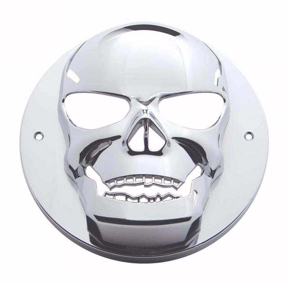 "4"" Skull Tail Light Bezel for Kenworth Peterbilt and All Semi-Trucks"