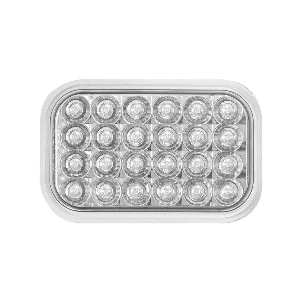 Pearl Style Rectangular LED Sealed Back Up Light