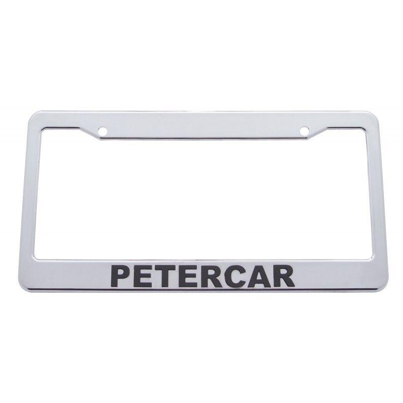 License Plate Frame - PETERCAR (Peterbilt)