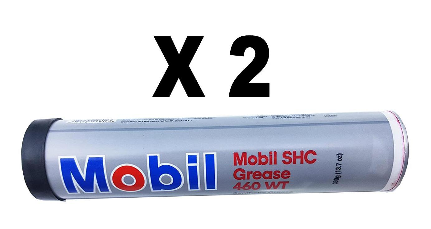 Mobil SHC 460 WT Synthetic Grease, Pack of 2