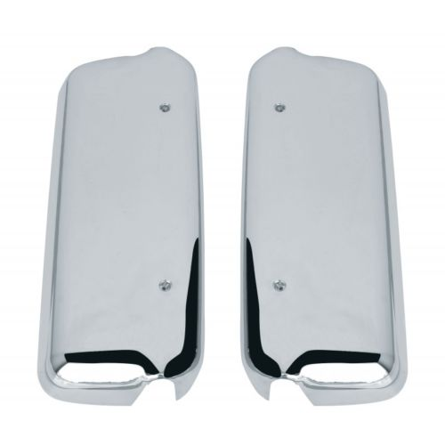 Freightliner Century & Columbia Chrome Mirror Covers for Driver & Passenger Sides