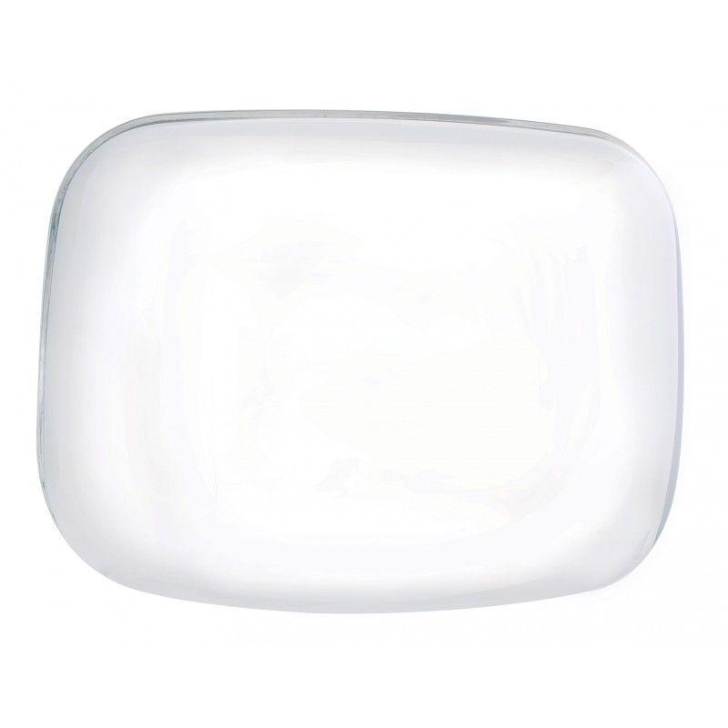 Chrome Hood Mirror Cover for Freightliner Cascadia, Passenger Side