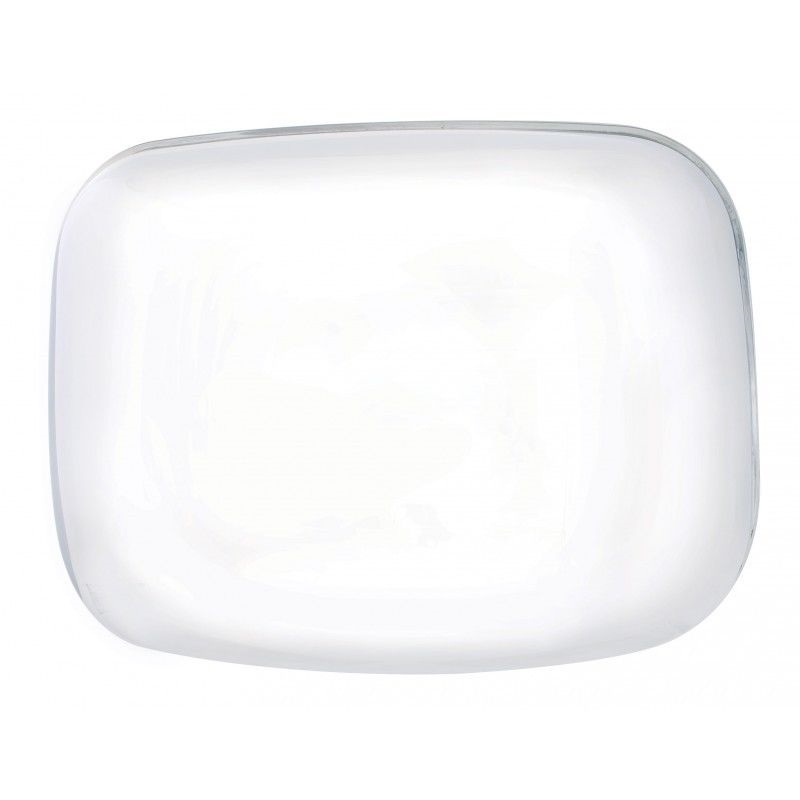 Chrome Hood Mirror Cover for Freightliner Cascadia, Driver Side