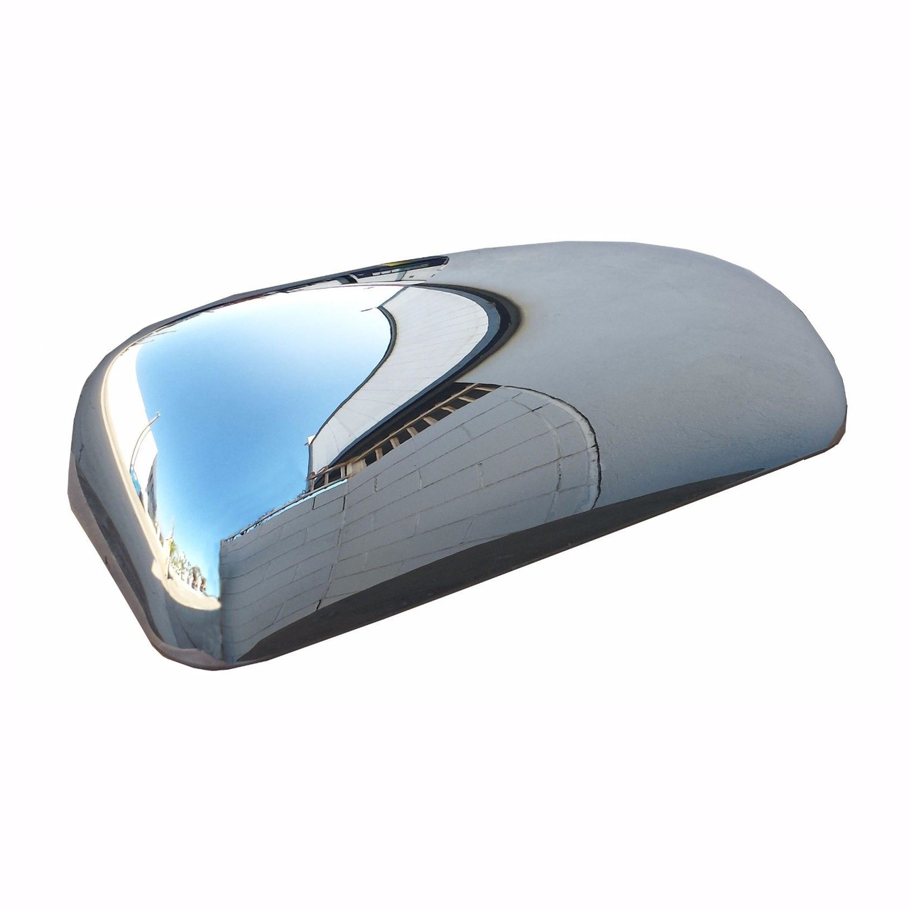 Kenworth T600 Chrome Mirror Cover - Passenger Side