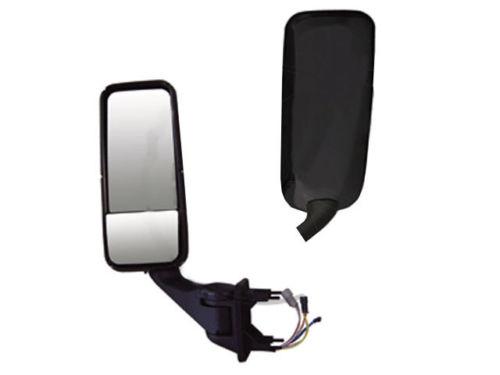Peterbilt 387, 587 & Kenworth T2000, T700 Black Mirror (HEATED) Driver Side
