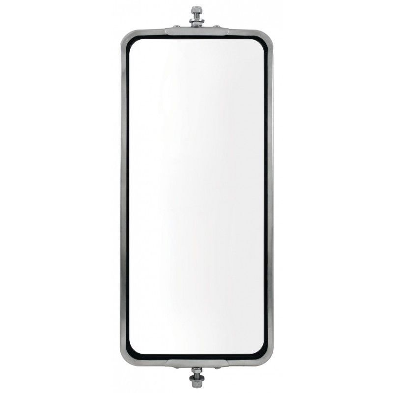 "Stainless Steel (NON-HEATED) West Coast Mirror - 7"" x 16"""