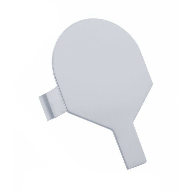 """Mud Flap Hanger End Cap - One Only (2"""") Stainless Steel"""