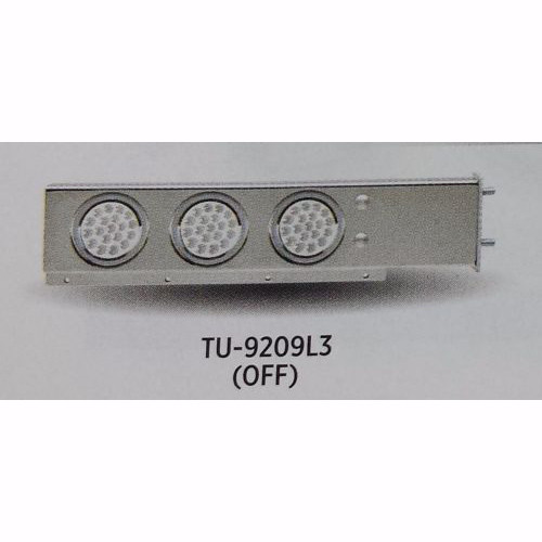 Stainless Steel Mud Flap Hanger set with Dual Function (57 LED ea) Lights - 2.5""