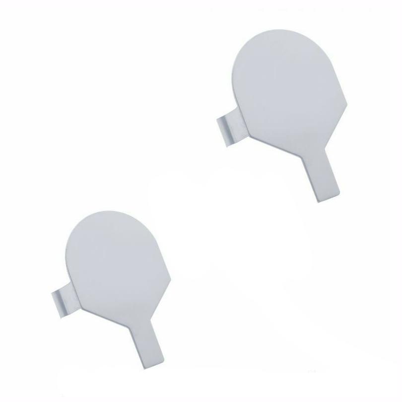 """Mud Flap Hanger End Plugs (Pair) 2"""""""