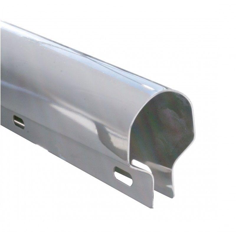 """Mud Flap Hanger Spring Loaded 2 å_"""" Bolt Pattern for Semi Truck Stainless Steel"""