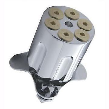 Steering Wheel Suicide Brody Knob Spinner 6 Shooter Bullet Chrome Gun Barrel