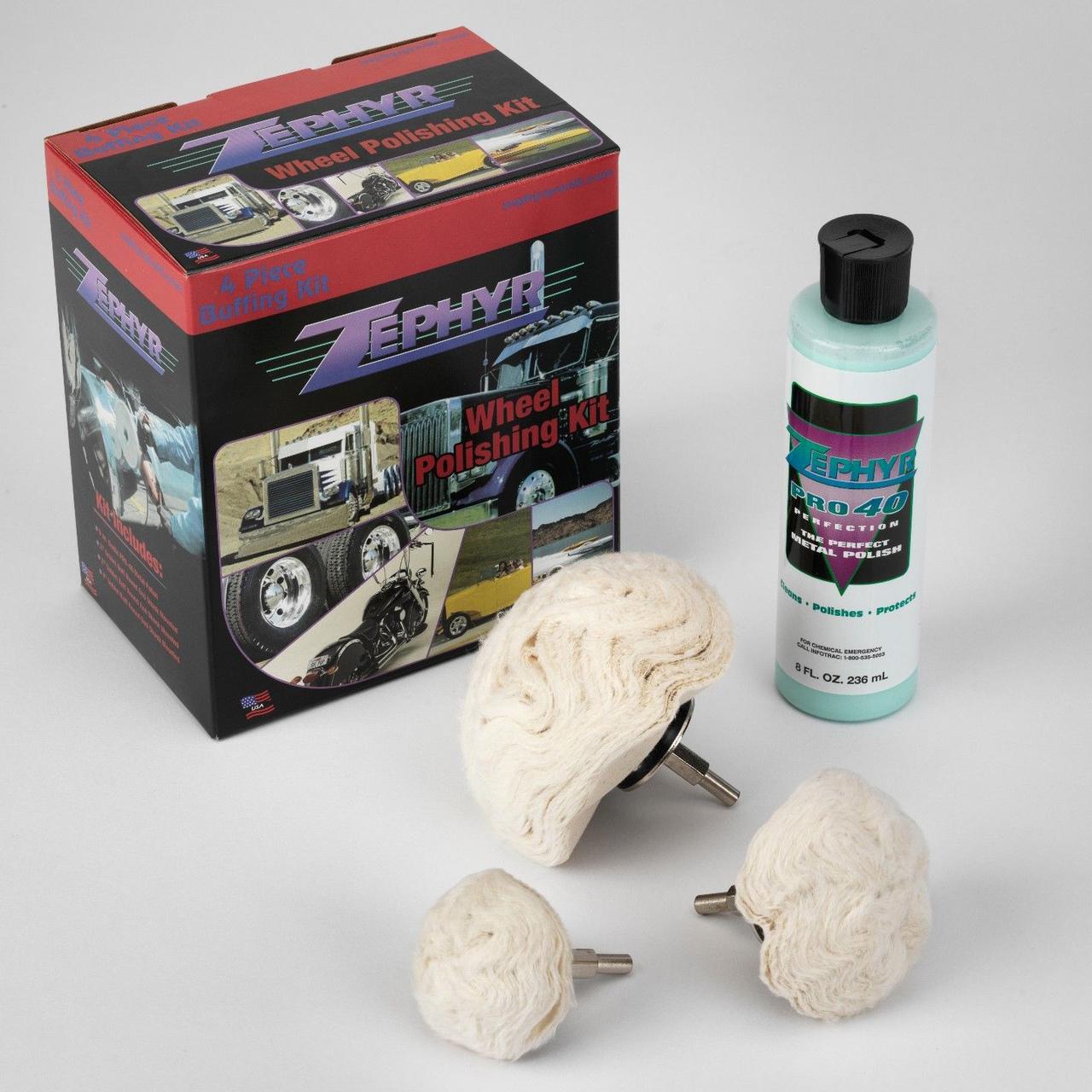 Zephyr (4 Piece) Wheel Polishing Kit