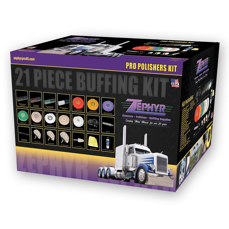 Zephyr (21 Piece) Professional Buffing Kit