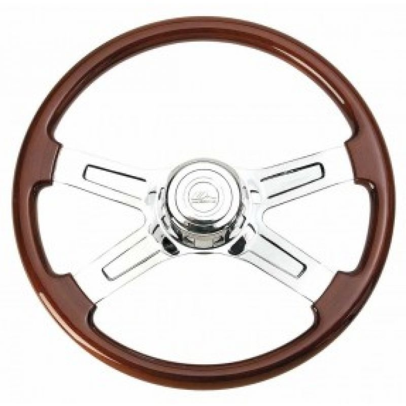 "18"" 4 Spoke Steering Wheel for Kenworth & Peterbilt"
