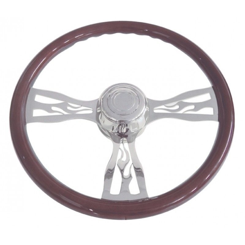 "18"" Flame Steering Wheel for Freightliner, 1989 - July 2006"