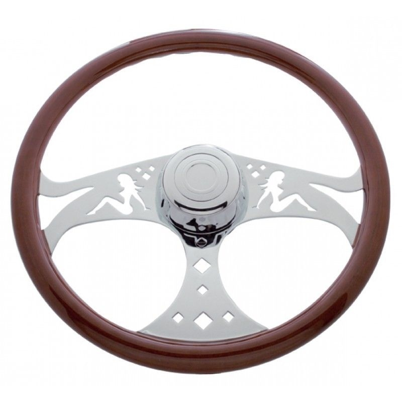 "18"" Lady steering wheel for Freightliner 1989 - July 2006"
