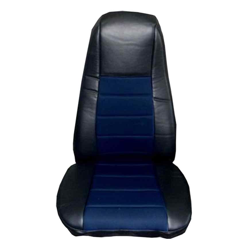 BMW Z3 Pair of PREMIUM Blue /& Black Car Seat Covers
