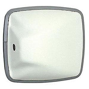 6.5 x 6 White Convex Mirror - RV TRUCK