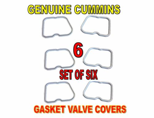 Cummins Valve Cover Gaskets (6 each) OEM 5.9L 3.9L Dodge 12 Valve