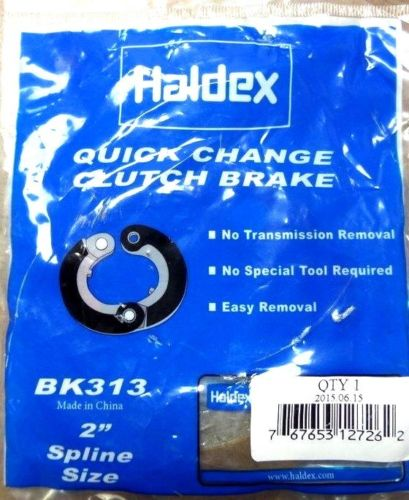 "Haldex 2"" Quick Change Clutch Brake - Hinged, Haldex BK313"