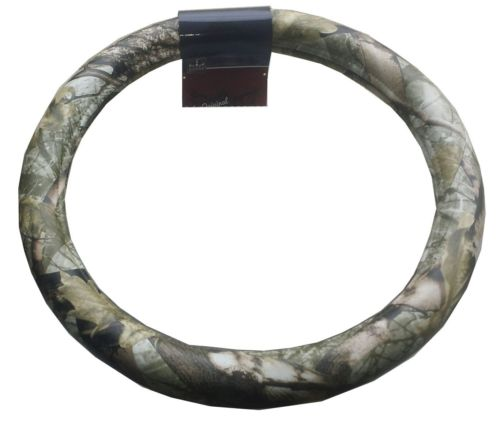 "18"" Woods Camoflauge Steering Wheel Cover Peterbilt Freightliner Semi Truck"