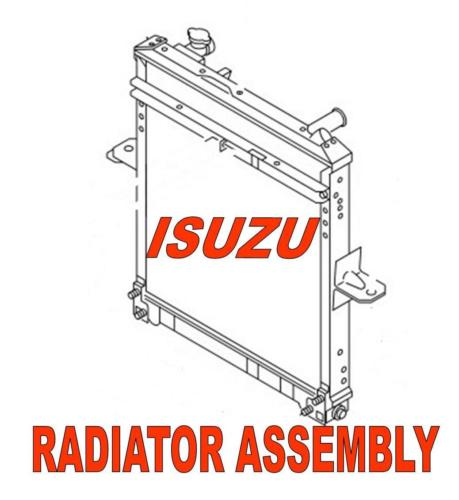 Radiator Assembly Isuzu  (2011+) NPRHD, NQR, NRR MODELS
