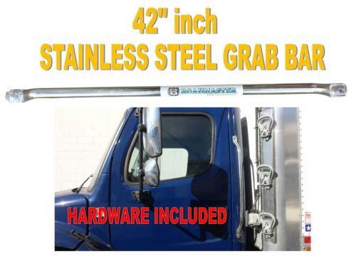 """42"""" Stainless Steel Grab Handle for Peterbilt, Freightliner, Mack, Volvo"""