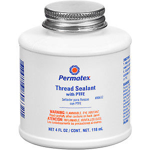 Permatex  Thread Sealant Liquid 4 oz with Brush Top Can