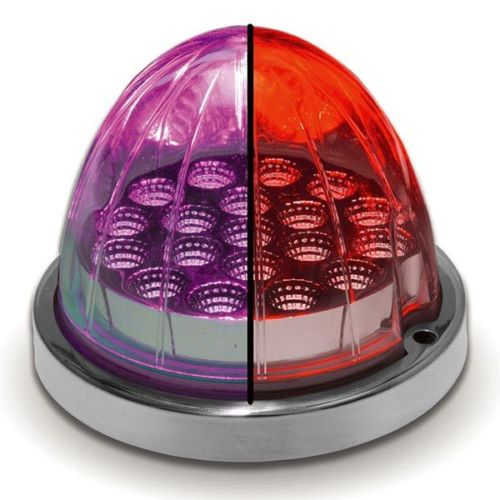 Red/Purple Watermelon Dual Color LED Light