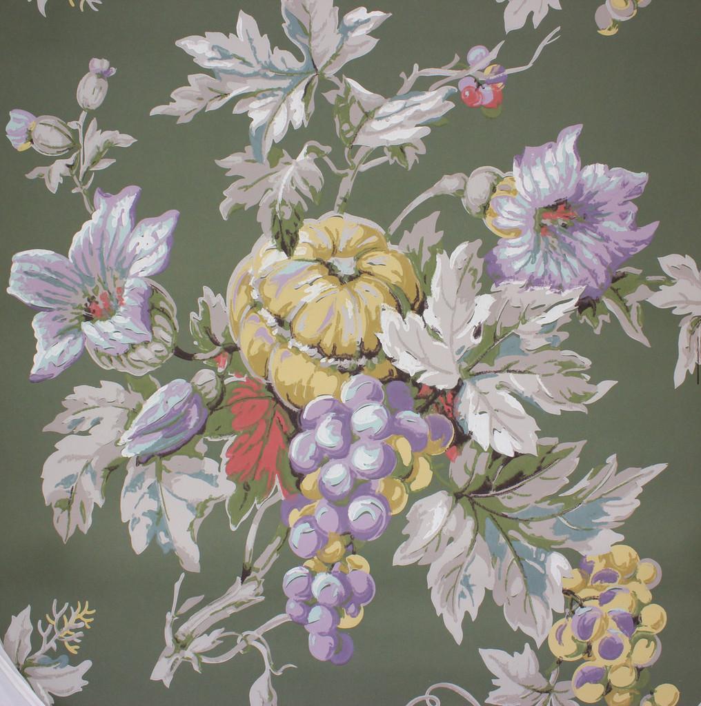 1950s Vintage Wallpaper Harvest