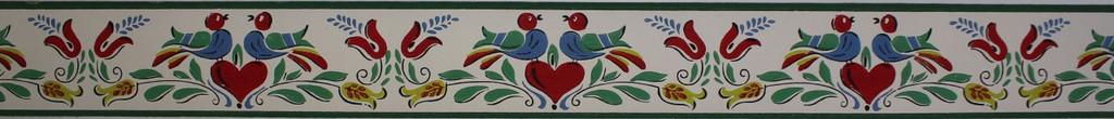 Trimz Vintage Wallpaper Border Penn Decor