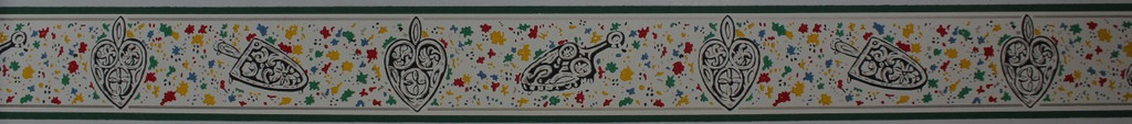 Trimz Vintage Wallpaper Border Trivet