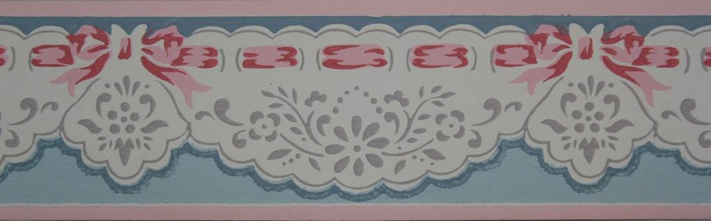 Trimz Vintage Wallpaper Border Pierced Scallops